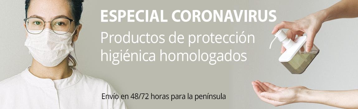 Productos para combatir el coronavirus