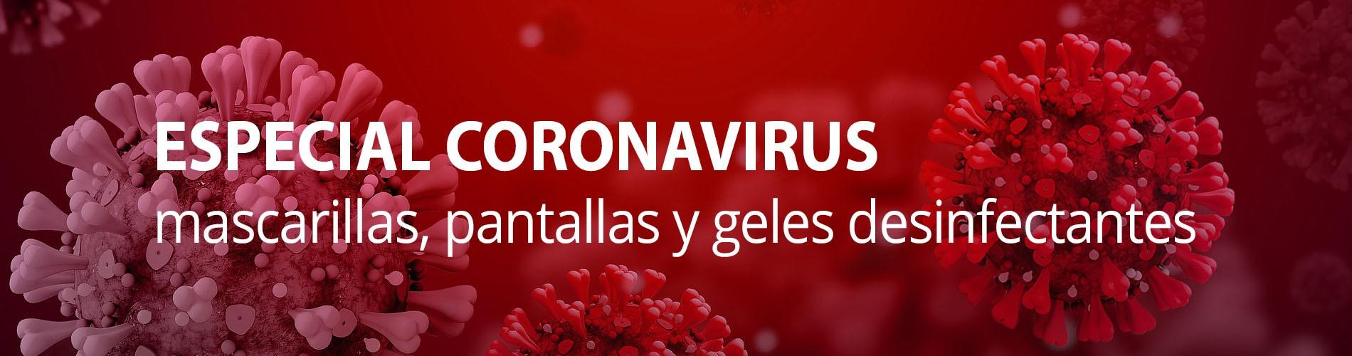 Productos contra el coronavirus